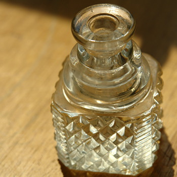 Diamond Cut Crystal Dug - Bottles