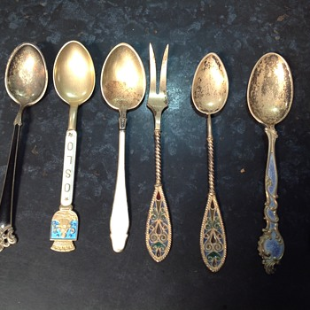 beautiful spoons - Sterling Silver