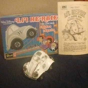 1970's Li'l Herbie Revell Model Kit
