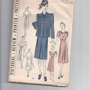 1930's PATTERNS? - Sewing