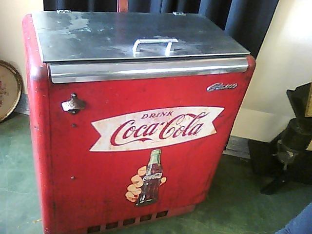 Vintage Coca Cola Machine Chest Cooler Collectors Weekly