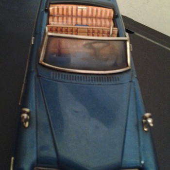 old tin toy car