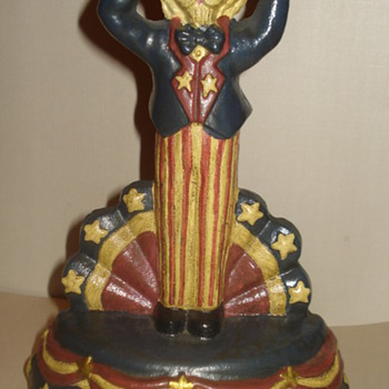 "HERE IS A DOOR STOPPER ""UNCLE SAM"" ""ADDED NEW PIC."""