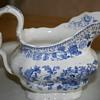 Blue and White Porcelain Gravy Boat