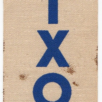 Nixon Ribbon from Ike 1956 Reelection Campaign - Advertising