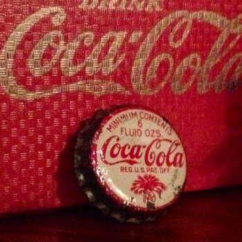Coca Cola 1930's Bottle Crown, SC