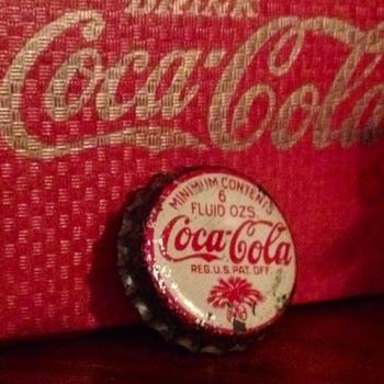 Coca Cola 1930's Bottle Crown, SC - Coca-Cola