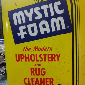 mystic foam gallon can