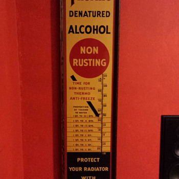 Thermo Denatured Alcohol - Signs