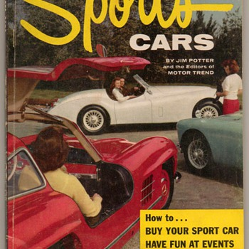 "1956 - ""Sports Cars"" - Book - Books"