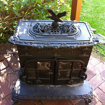 cast iron fire (parlour stove?)