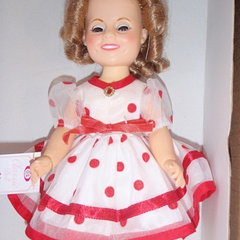 Tell me about the dress, Shirley Temple Doll