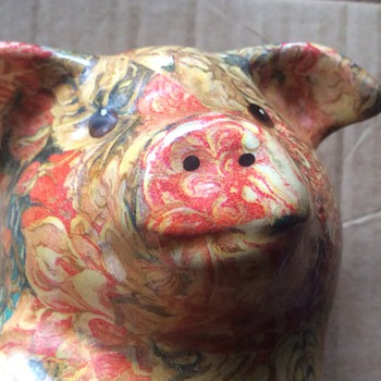 Vintage pig - Animals