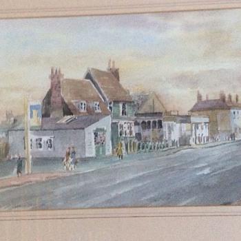 Vintage painting - Visual Art