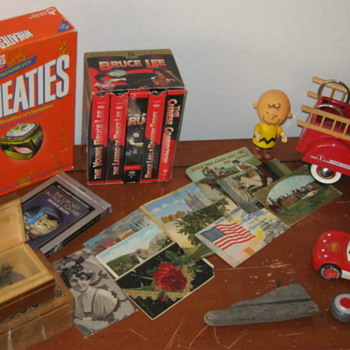 My toys and postcards - Postcards