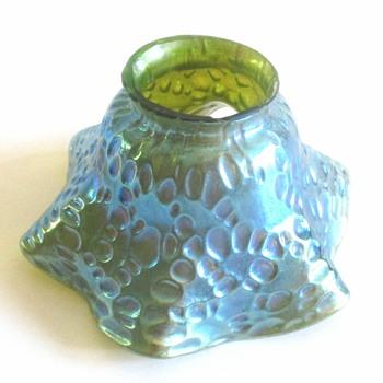 LOETZ BLUE DIASPORA GLASS SHADE