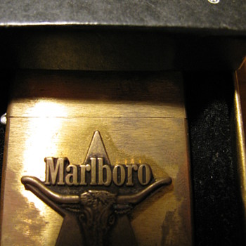 Marlboro Zippo Lighter in original box - Advertising