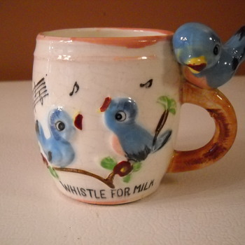 Whistle For Milk ! - Art Pottery