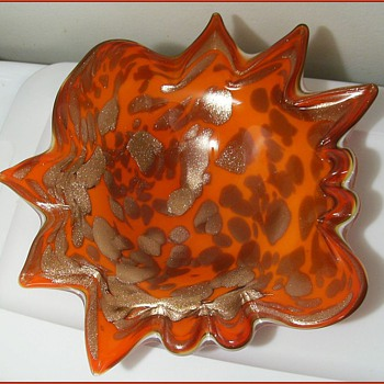 Fratelli Toso - Murano Art Glass Bowl