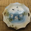 Swans & Swallows - R.S. Prussia Cake Plate