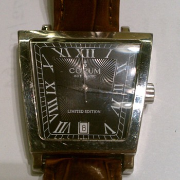 CORUM MENS WATCH LIMITED EDITION 63 OF 100 - Wristwatches