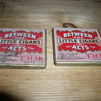 Between the acts cigar tin