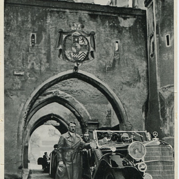 Adolf Hitler at Landsberg Prison 1934 - Photographs