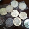 4 Indian Heads, 4 Canadian Maple Leaf, 1 Peace Dollar, 1 Silver City round 10 oz Silver