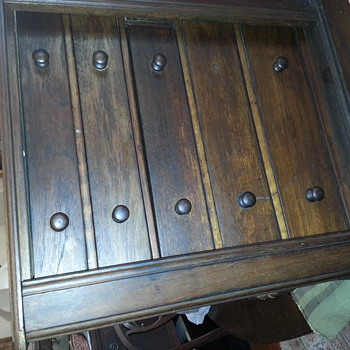 Antique Spice Chest - Furniture
