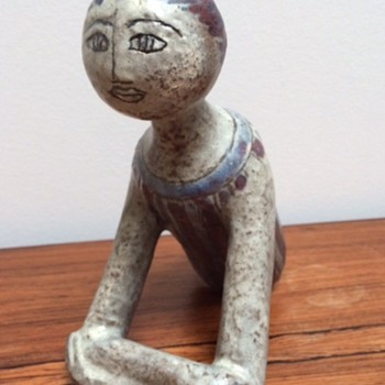 Ceramic sculpture. Unknown mark/signature - Visual Art