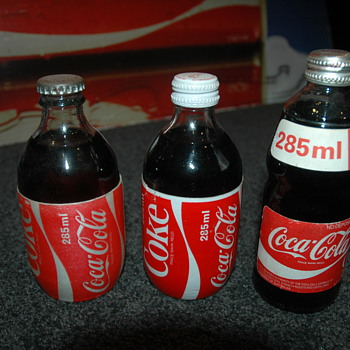 Aussie 285ml bottles - Coca-Cola
