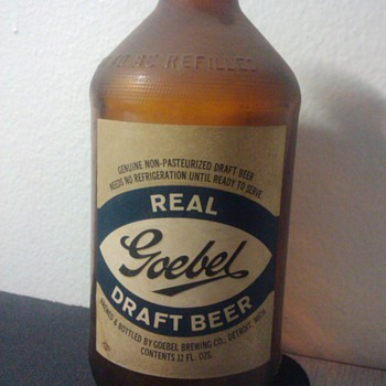 Strohs and Goebel Beer, circa...????