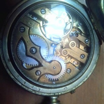 Pocket Watch . Bueche, Boillat & Cie