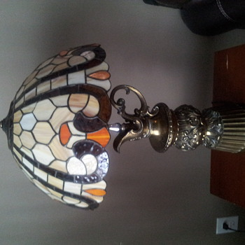 a lamp i feel in love with at a antique shop