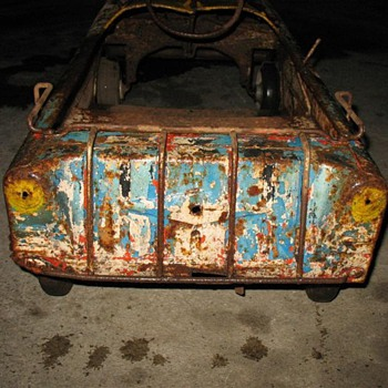 I want to identify my Pedal Car I want to restore it