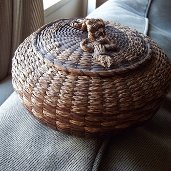 Old Penobscot Urchin Basket - Native American