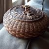 Old Penobscot SeaUrchin Basket, circa 1880