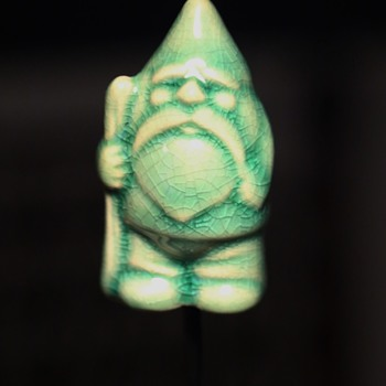 Pottery Gnome Stick Pin for Flower Pots