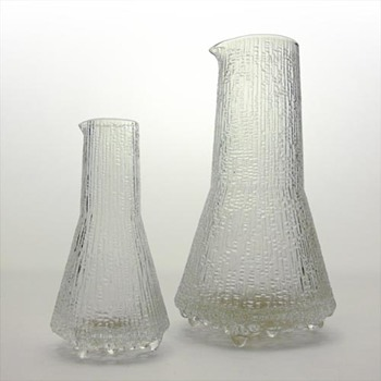 ULTIMA THULE handleless jugs, Tapio Wirkkala (Iittala, 1968) - Art Glass