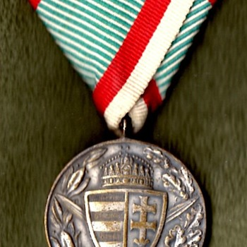 Hungarian and Bulgarian WWI Commemorative Medals