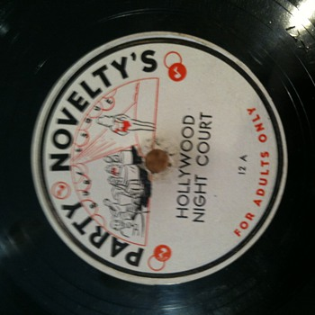 78's   lable Party Novelty's  adults only