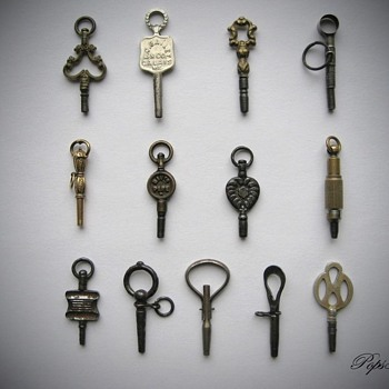 Antique Pocket Watch Keys - Pocket Watches