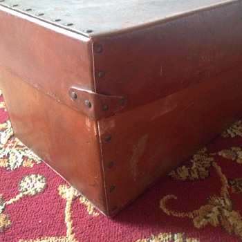 Leather box, chest?
