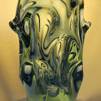 Skrdlovice vase 1960s - Art Glass