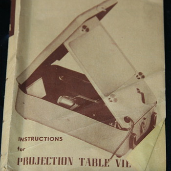C-O-C PROJECTION TABLE VIEWER FOR 35MM SLIDES