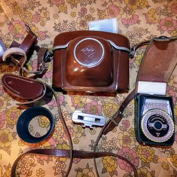1960/1-agfa ambi sillette 35mm rangefinder camera. - Cameras