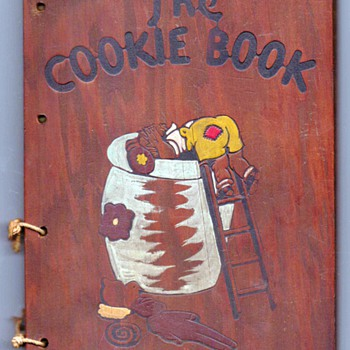 1936 - The Cookie Book by Nellie Watts - Books