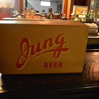 Jung beer, Random Lake Wis. - Breweriana