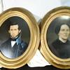 Antique Painted Portraits.