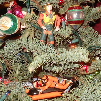 GI Joe Hallmark Christmas Ornaments